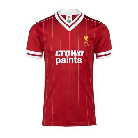 Jersey Retro Liverpool 93 liverpool unveil 2017 18 home kit the football faithful