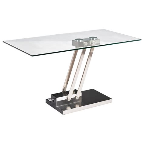 glass top adjustable height desk adjustable height coffee