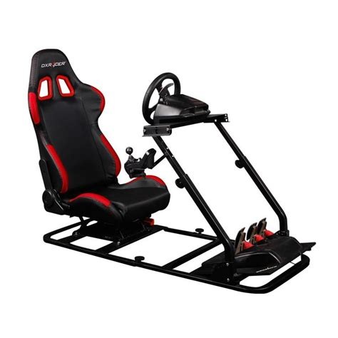 two seater cing chair dxracer racing cockpit simulator pc gaming ps combo 200