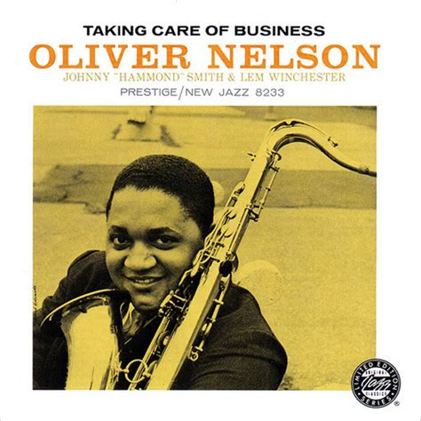 Posh Taking Care Of Business by Oliver Nelson Taking Care Of Business Cd Album At Discogs