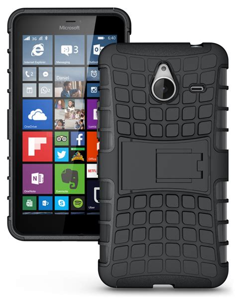 Hp Nokia Lumia Xl 640 for microsoft nokia lumia 640 xl cover accessories tough rugged dual layer with