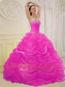 pink ball gown sweetheart 15th birthday dresses