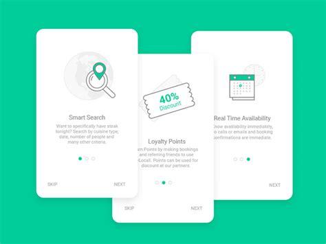 design app walkthrough 40 mobile apps onboarding designs for your inspiration