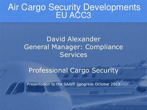air cargo security  eu acc ra  kc