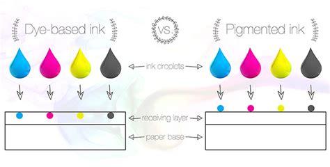 printable vinyl for pigment ink primera dye based ink versus pigmented ink
