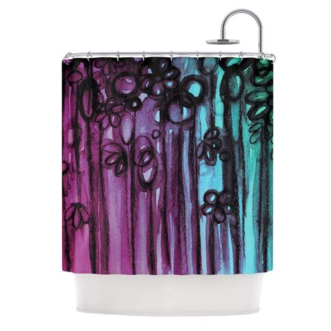 Teal Ombre Curtains 1000 Ideas About Teal Shower Curtains On Restroom Ideas Mermaid Bathroom And