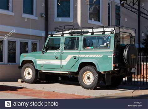 land rover 110 truck 1985 land rover defender 110 county truck with roof rack