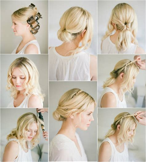 hairstyles for thin hair diy diy updo for thin hair diy do it your self