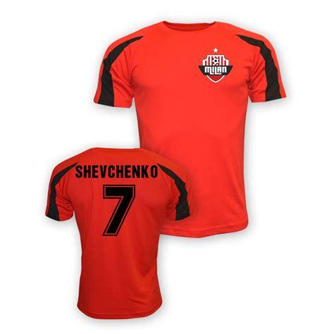 Sleeveless Football Ac Milan 014 andrei shevchenko ac milan sports jersey trainred 26 64 teamzo