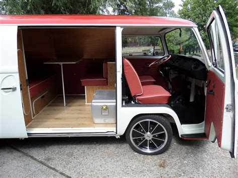 volkswagen van original interior vw bay window low light panel van westfalia walkthrough