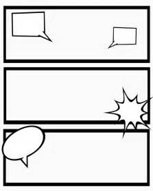 comic book templates printable comic strips for narration sweet mess my