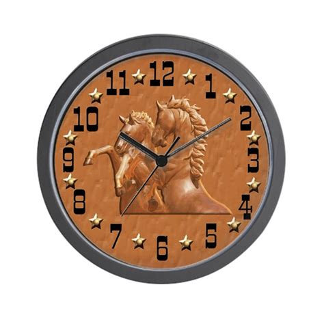 themes and clock western theme clock wall clock by naturessol