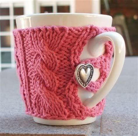 knitted mug cosy free pattern knitted mug cozies knitting is awesome
