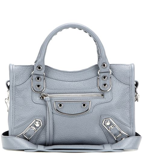 Guess Who The Balenciaga Handbag by Balenciaga Classic Metallic Edge Mini City Leather