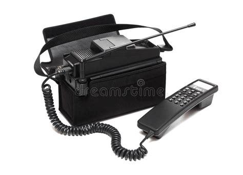 vintage mobile phone stock image image   analog