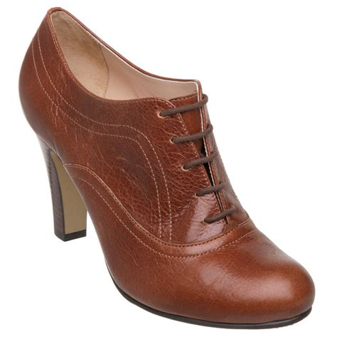 new dune seventy womens brown lace up ankle