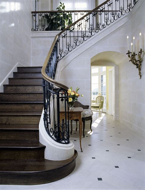 Entry Stairs Design Inspired Entry And Stair In Ca Traditional Entry Los Angeles By Felhandler