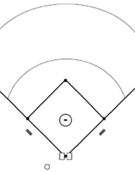 printable baseball field diagram baseball template image collections template