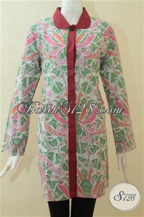 desain baju batik pesta blus batik modern desain berkelas baju batik pesta