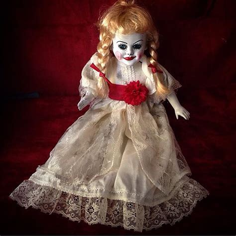 porcelain doll annabelle creepy dolls mystic crypt the most unique to find