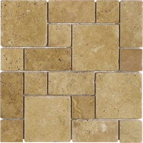 installing french pattern travertine tiles travertine tile flooring french pattern flickr photo