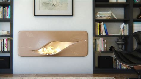 Fireplace Ideas No Fire by Organic Futuristic Contemporary Fireplace Design Mvtikka