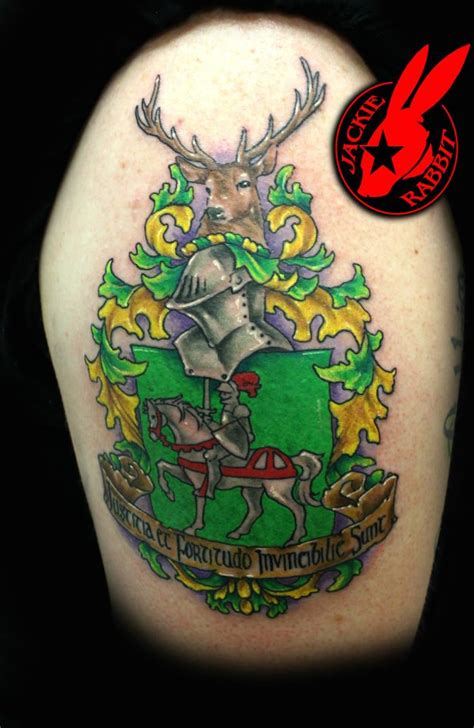 tattoo galleries family crest family crest tattoo by jackie rabbit by jackierabbit12 on