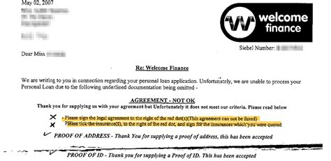 Hitachi Personal Finance Welcome Letter Is The Fsa Losing The War On Rip Loan Cover Welcome Finance Ppi This Is Money