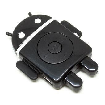 Android Robot Mp3 Player Tf Card With Small Clip jual beli android robot mp3 player tf card with small