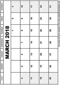 Calendar 2018 March School Image Gallery March 2018 Calendar