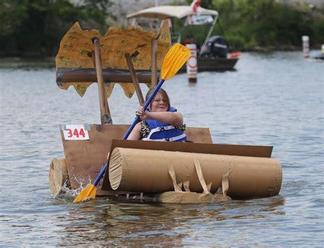 gravy boat regatta 17th annual cardboard boat regatta takes place sunday