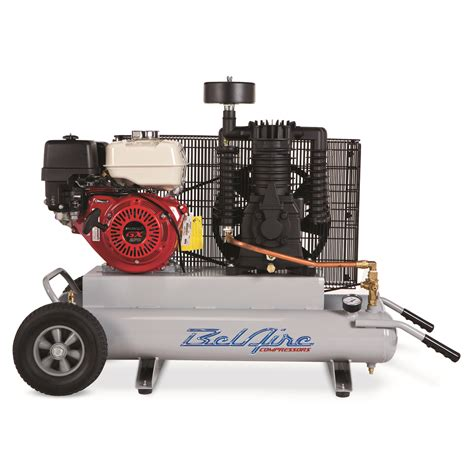 belaire tr908 9 hp 2x5 gallon portable gas powered contractor air compressor ebay