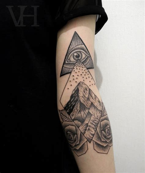 rose with eye tattoo tattoos of the mighty eye of providence scene360