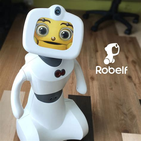 robelf multi smart home security robot connected crib