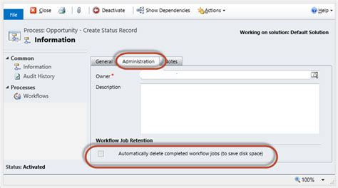 crm 2011 workflow automatically delete completed workflow crm 2011