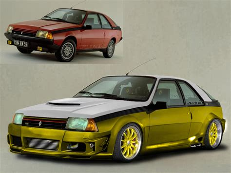 renault turbo renault fuego turbo photos and comments www picautos com