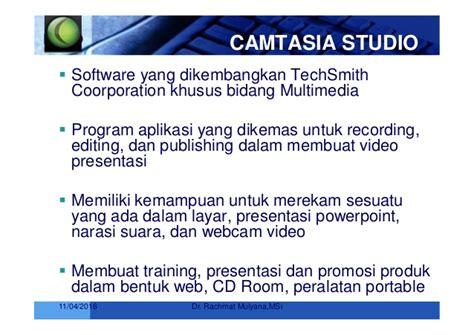tahapan dalam membuat presentasi video pembuatan video tutorial dengan camtasia studio