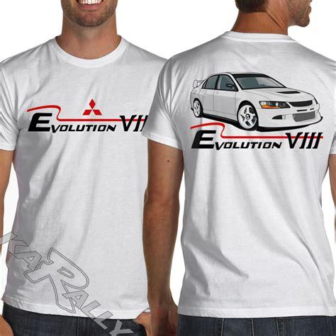 Kaos Tshirt Lancer Evolution 1 mitsubishi lancer evo viii evolution 8 white or gray jdm racing t shirt t shirts tank tops