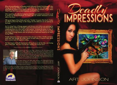 Deadly Impressions johnson author johnson thrills again with
