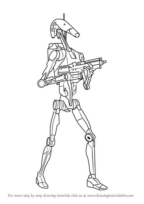 battle droid coloring pages battle droid pages coloring pages