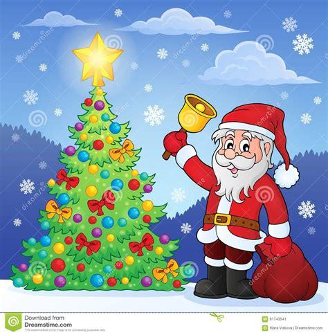 imagenes de santa claus y la navidad santa claus con la cana por el 225 rbol de navidad