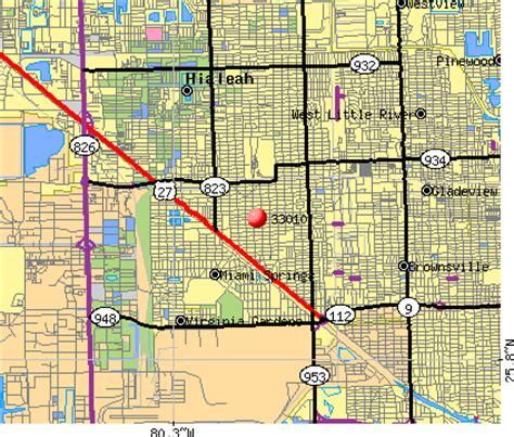 map hialeah florida 33010 zip code hialeah florida profile homes