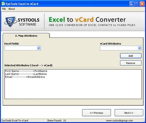 format vcard excel excel to vcard converter online free