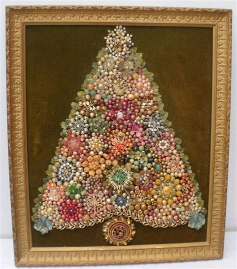 upcycled picture frame ideas vintage framed costume jewelry tree picture
