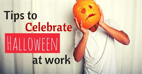 ideas  ways    celebrate halloween  work