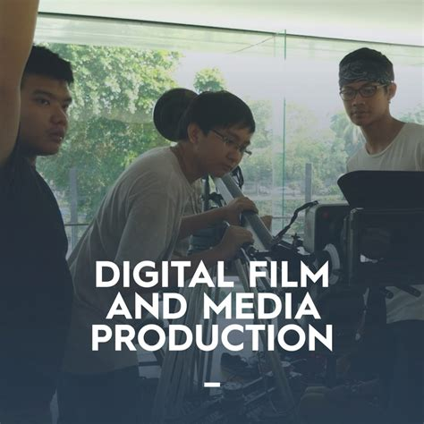 film vision adalah digital film media production sekolah kuliah jurusan