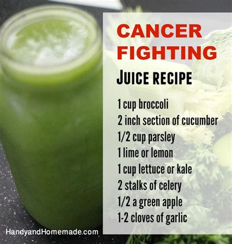 Detox Cancer Preventing Smoothie by Cancer Fighting Juice Recipe Food W A Purpose