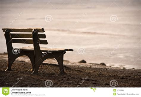 lonely bench lonely bench stock photos image 10755693
