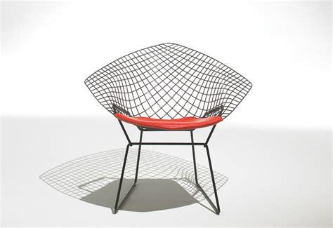 diamond armchair diamond armchair seat pad designed by harry bertoia
