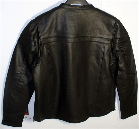 sport motorcycle jacket mens black leather sport scooter motorcycle jacket with